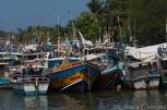 """Sri Lanka"" Negombo lagoon boats"