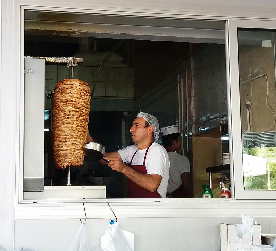 """""""North Nicosia"""" Cyprus kebab"""