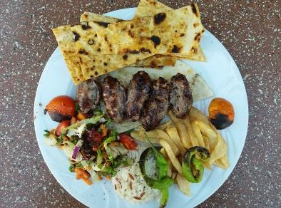 """""""North Nicosia"""" Cyprus sheftalia kebab"""