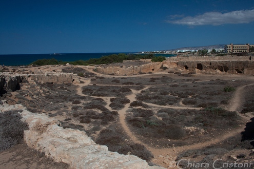 "Pafos Paphos Cyprus ""Tombs of the Kings"" UNESCO"