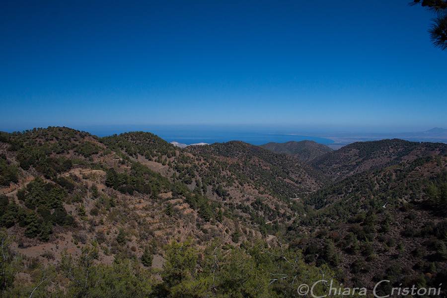 Cyprus Troodos mountain coast