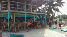 "Belize ""Caye Caulker"" ""Lady Lizard"" Split"