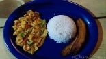 "Belize ""Caye Caulker"" curry food"