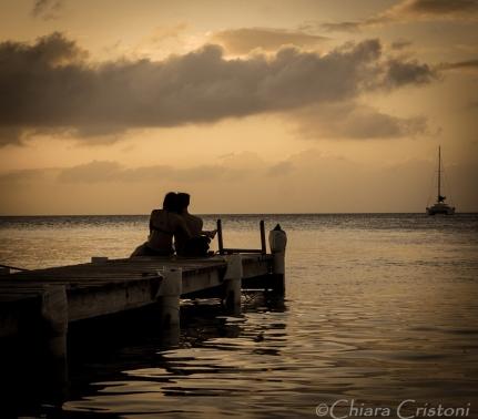 "Belize ""Caye Caulker"" sunset"
