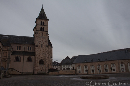 Echternach basilica Willibrord