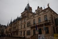 "Luxembourg ""Ville Haute"" palais grand-ducal"