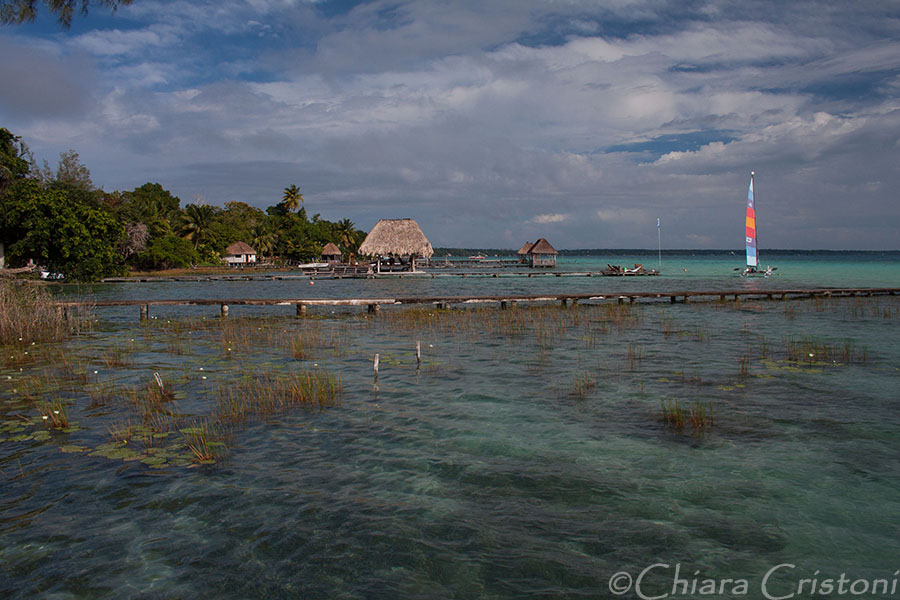 Bacalar Mexico lagoon lake