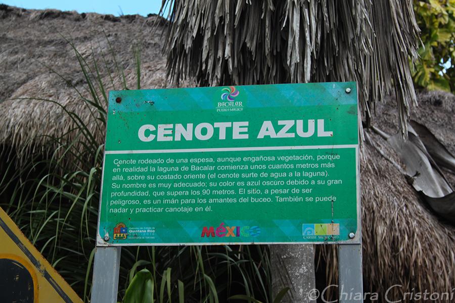 """Mexico Bacalar """"Cenote Azul"""""""""""