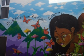 A beautiful mural