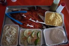 "Mexico ""Isla Mujeres"" tikinxik fish dish"