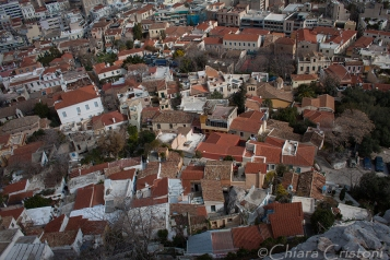 Athens from above