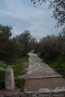 Path on Philopappou hill