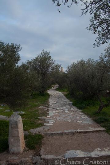 Path on Philopappou hill
