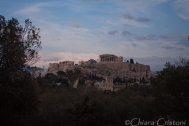 Acropolis seen from Philopappou hill