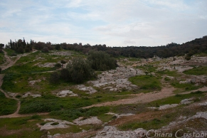 Walking down from Philopappou hill
