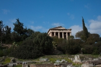 Ancient Agora and Temple of Hephaestus