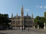 Austria Vienna Rathaus townhall