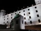 Slovakia Bratislava castle by night