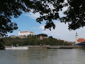 Slovakia Bratislava Danube river