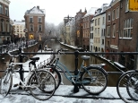 Holland Netherlands Utrecht snow