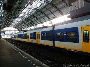 Holland Netherlands Amsterdam train