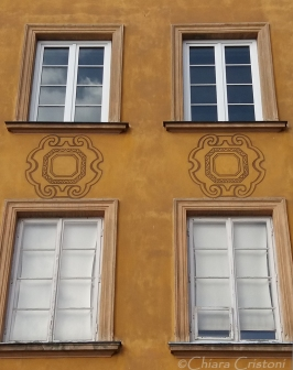 Details of a house in the Old Town