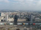 View from the Palace of Culture and Science