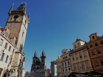 Tyn Church and Old Town Hall