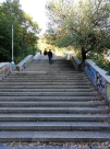 Stairs to Letna park