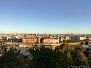 View of Prague from Letna park