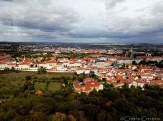 View of Prague from Petřín hill