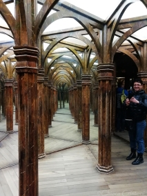 Inside the Mirror Maze