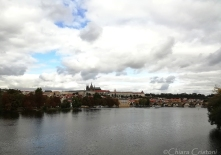 The Castle and Charles Bridge from the distance