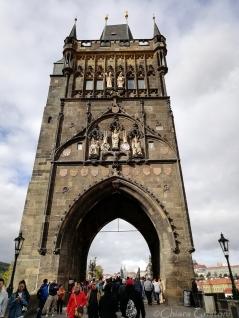 Charles Bridge, Stare Mesto end