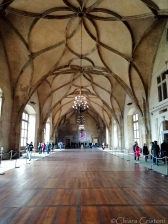 Inside the Old Royal Palace