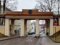Entering Tartu
