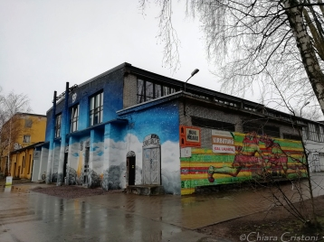 Street art in Telliskivi