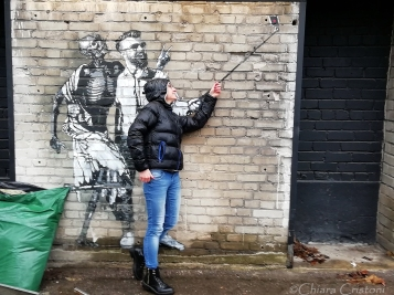 Street art (and me) in Telliskivi