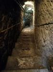 The steps inside St. Olaf's Church