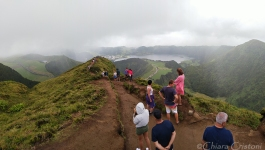 Sete Cidades from a higher path